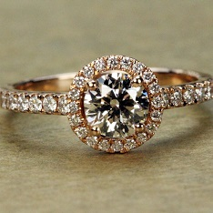 Engagement Rings - Rose Gold