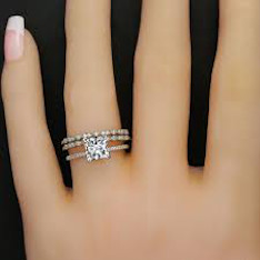 Trio Wedding Ring Sets